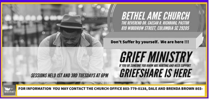 Grief Ministry @ Bethel AMEC (Room 112)