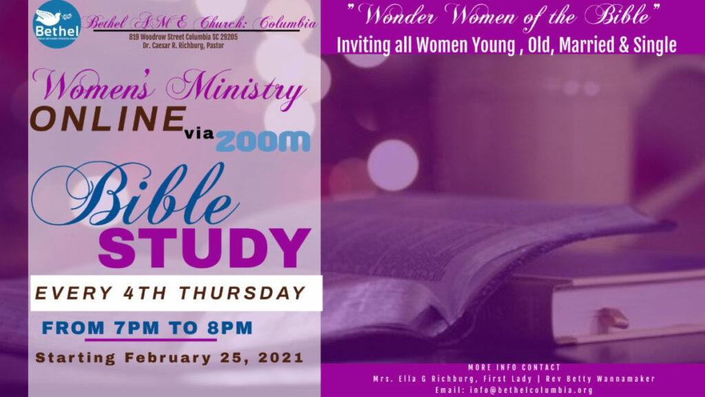 Women's Ministry Bible Study