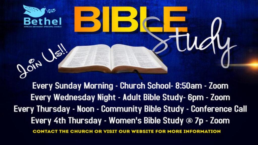 Thursday Community Bible Study